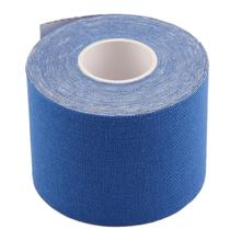 Wholesale 5cm x 5m Sports Muscle Stickers Tape Roll Cotton Elastic Adhesive Muscle Bandage Strain Injury Support Free Shipping(China (Mainland))