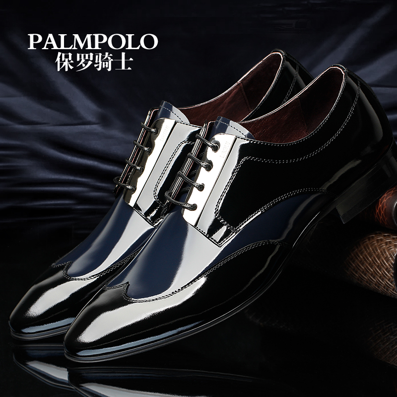 Paul knight autumn new arrival  fashion male men shoes commercial formal leather palmpolo men dress shoes<br><br>Aliexpress