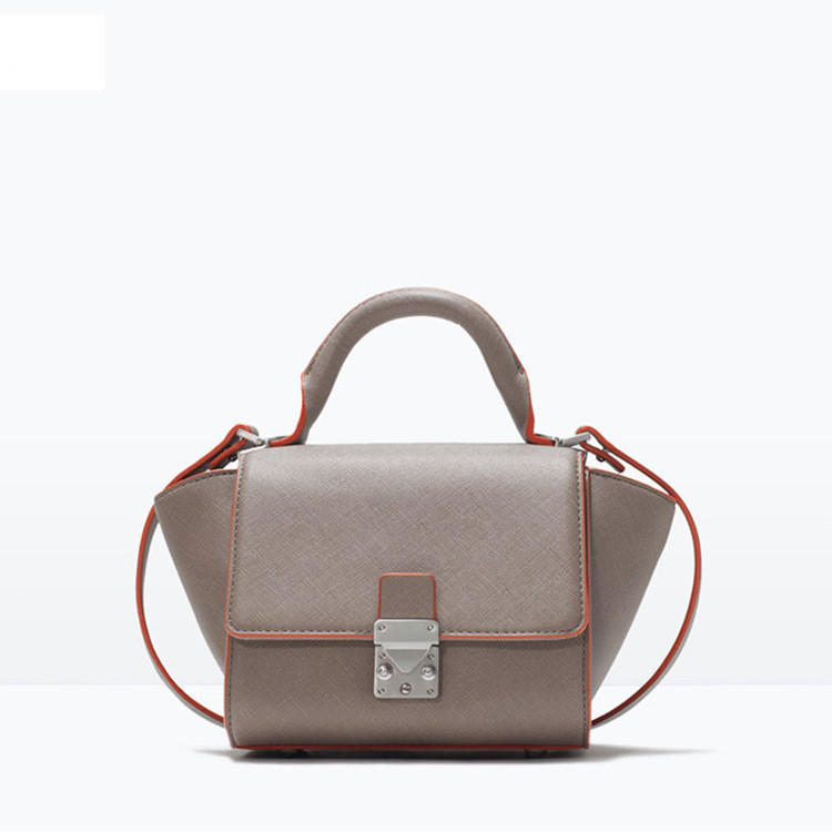 Hot Selling Women Classic PU Leather Smiling Face Bag Chamois Handbags Bat Wings Lady Smiley Tote Phantom Famous Purse684(China (Mainland))