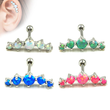 16g Upper Ear Cartilage Bar Helix Piercing Jewelry