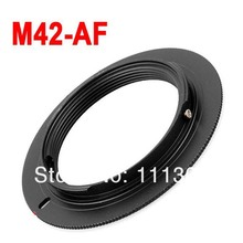 Buy 50pcs M42-AF M42 Lens SONY AF Mount Adapter Ring a77 a65 a55 a33 a390 a700 a580 lens adatper ring for $60.19 in AliExpress store