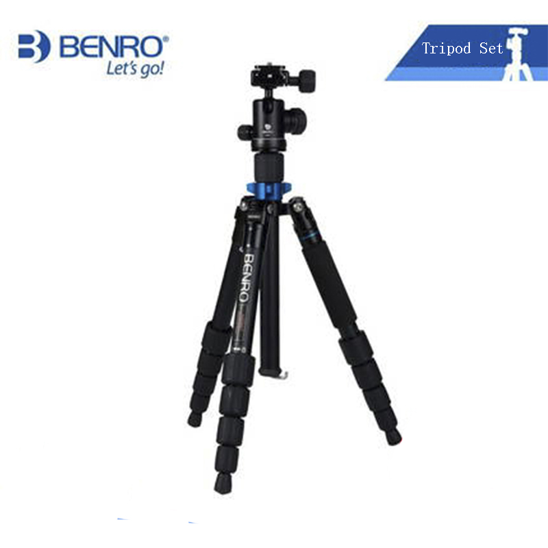 Benro A0292TB00 Portable Tripod For Canon Nikon Sony Olympus Pentax SLR Aluminum Alloy Tripod For Photography Stable High Grade(China (Mainland))