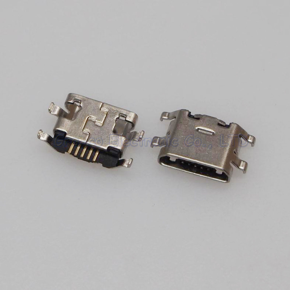 10pcs Micro 5P USB Jack Connector Female socket For Meizu Metal Note 1/2 M1 M2 Charging Tail Plug