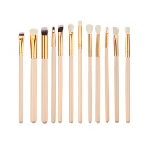 Buy 12 Pieces/Sets Pro Beauty Makeup Brushes Sets Foundation Powder Eyeshadow Eyeliner lips Blush tools Pincel Maquiagem xgrj for $2.80 in AliExpress store