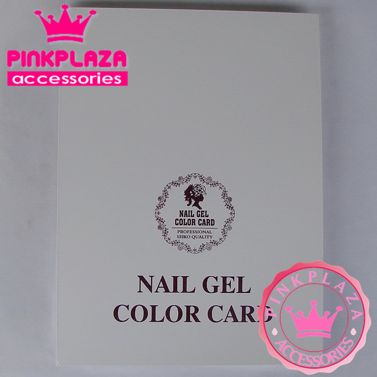 News 216 Colors Nail Colors Chart Color Collect Book Display Color Card for Nail Art Upscale Salon Manicure Special Wholesale(China (Mainland))