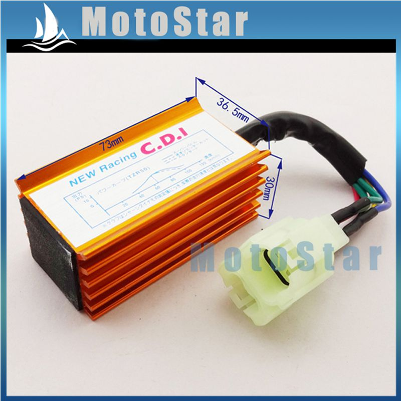 Gold Performance AC Ignition CDI Box For ATV Quad GY6 50cc 90cc 110cc 125cc 150cc Engine Chinese Moped Scooter Buggy(China (Mainland))