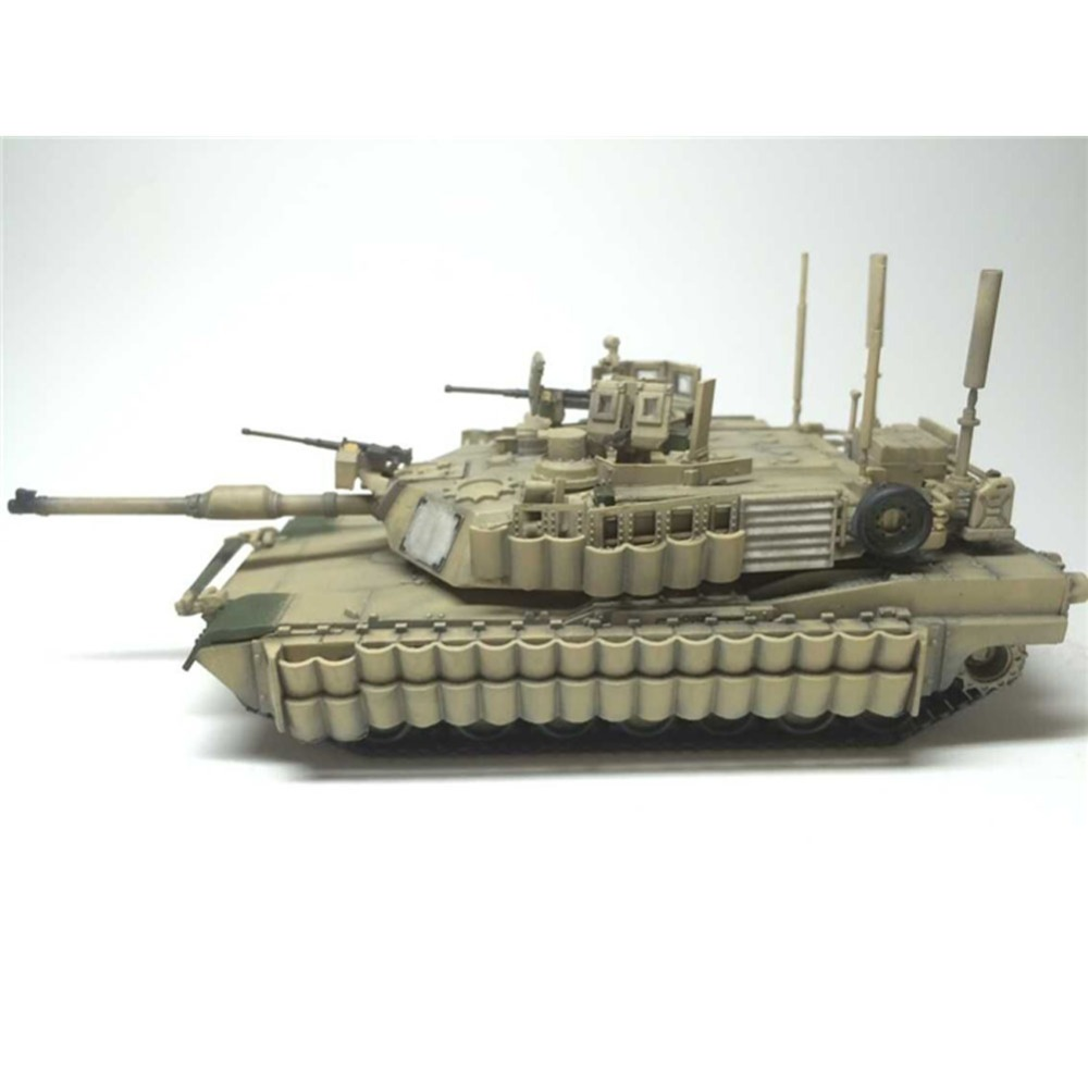 Tiger Model 9601 1/72 US M1A2 Tusk II Abrams US Main Battle Tank AFV Assembly Model Building Kits TTH(China (Mainland))