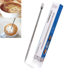 Barista Coffee Cappuccino Latte Decorating Art Pen Household Kitchen Cafe Tool Free ShippingFree Shipping