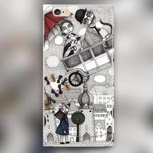 Going on Holiday Design black skin case cover cell mobile phone cases for Apple iphone 4 4s 5 5c 5s 6 6s 6plus hard shell