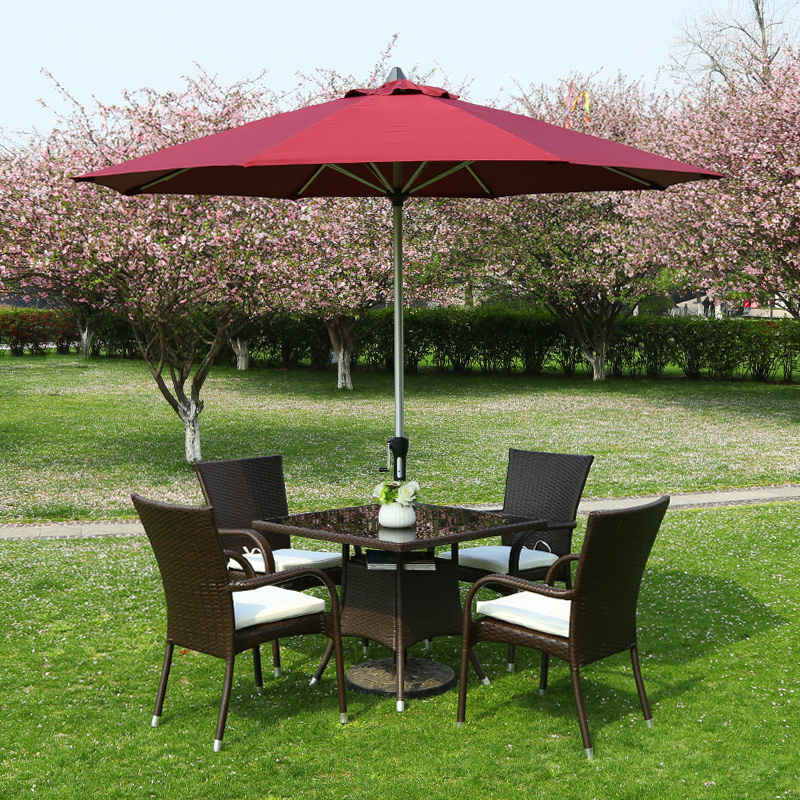 Wicker Chair Outdoor Furniture Balcony Patio Chairs