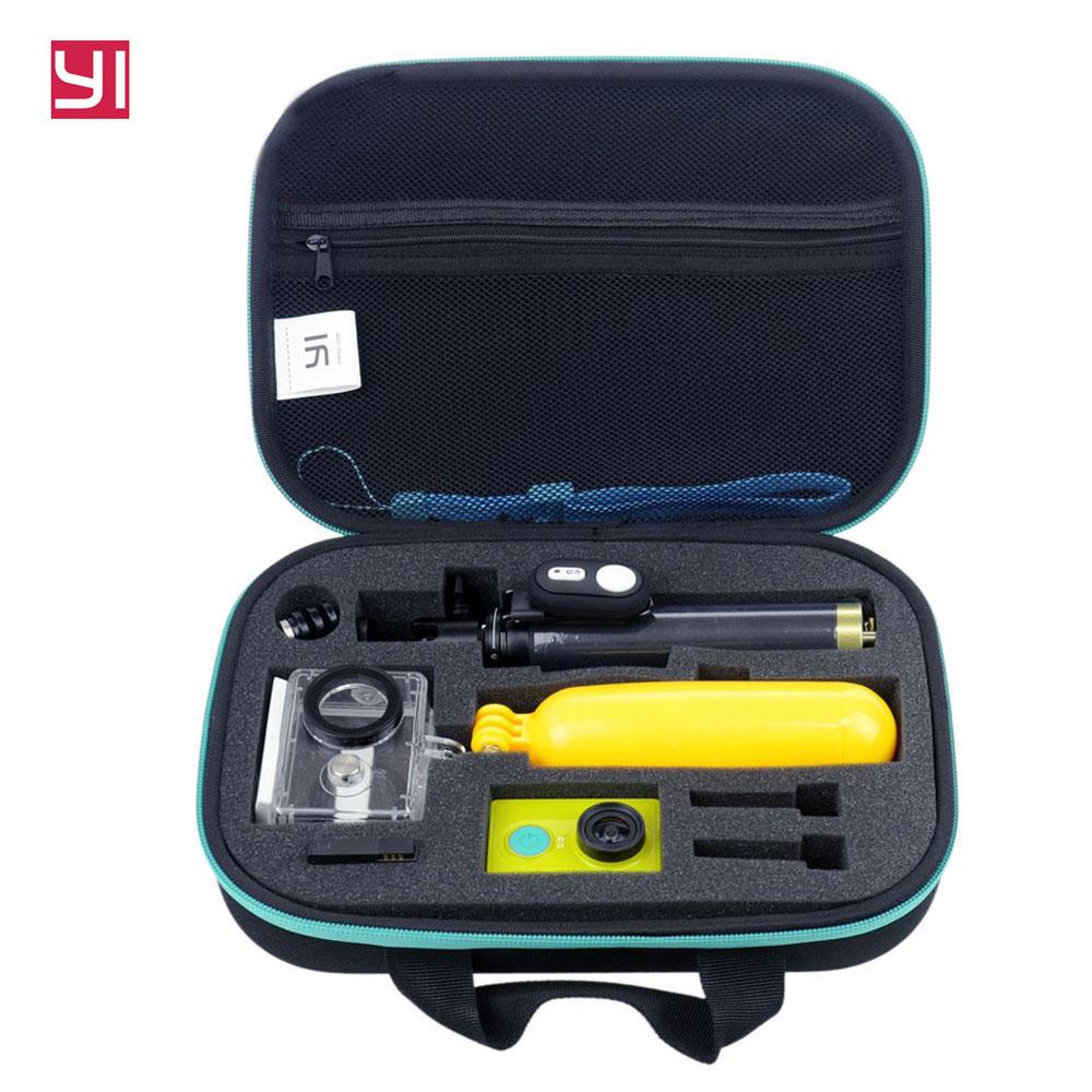 Free Shipping!! Xiaoyi Action Waterproof Case Bag Bluetooth Selfies Monopod Bluetooth Camera Remote Control for Xiaomi Yi