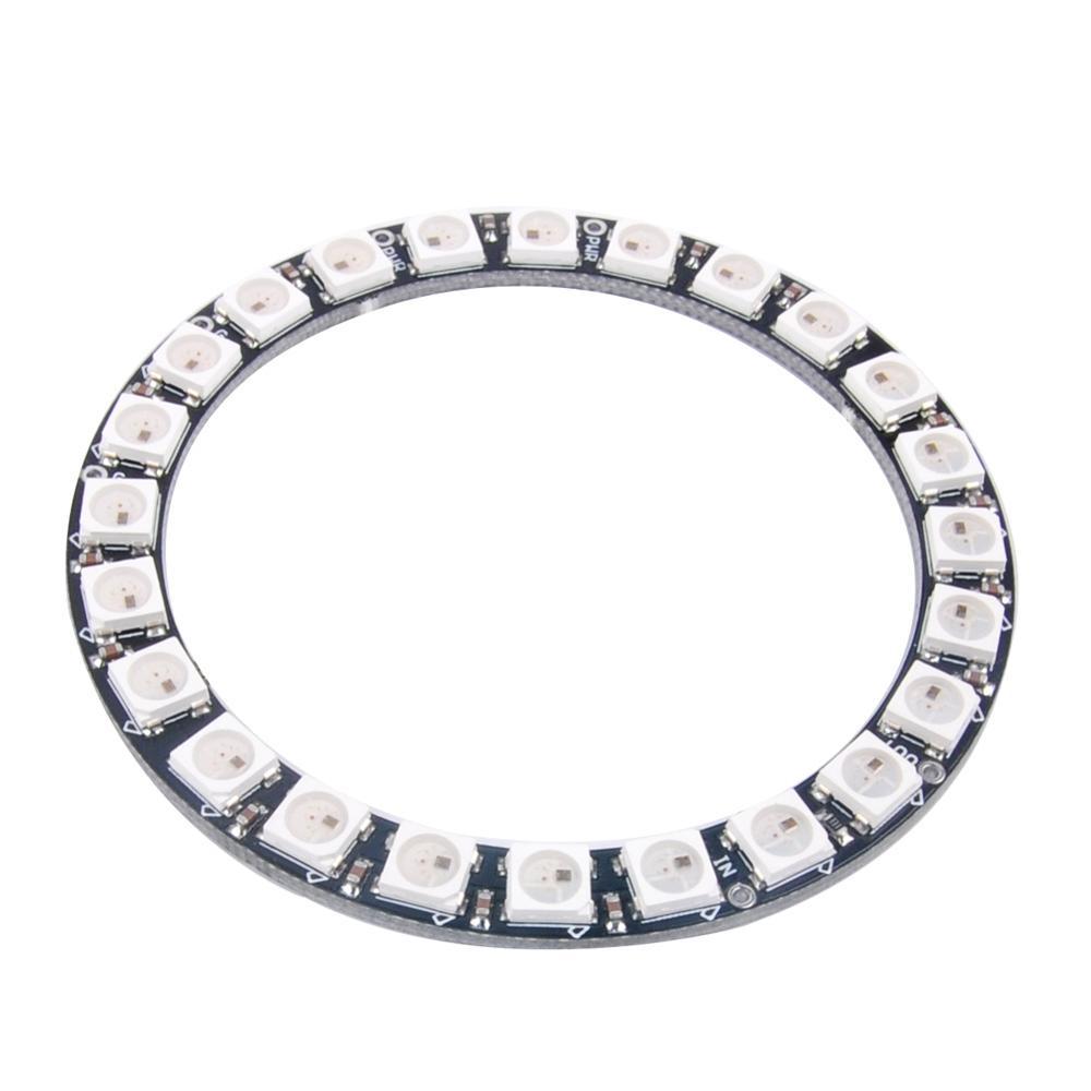 WS2812B Module Strip 24 Bits 24 X WS2812 5050 RGB LED Ring  -> Wandleuchte Led Ring