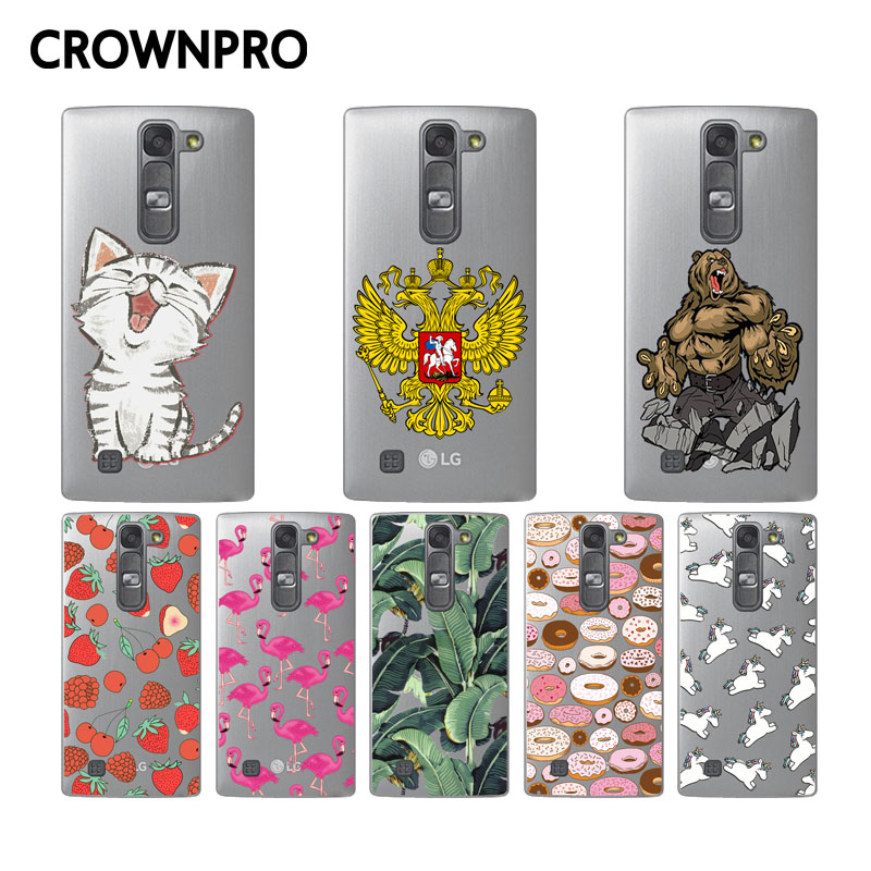CROWNPRO FOR LG G4 Mini H525N Case Silicone FOR LG G4C Phone Case TPU Soft Cover FOR LG Managa C90 Phone Back Cases
