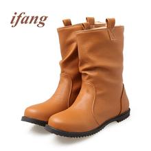 Ifang Mujeres Martin Botas de Invierno botas de Nieve mantener caliente Zapatos de Las Mujeres Botas de Mujer Botas de Mujer con cordones de Las Mujeres 34-52(China (Mainland))