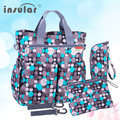 Hot Sales Free Shipping Colorful Baby Diaper Bag Nappy Bags Waterproof Changing Bag Multifunctional Mommy Bag