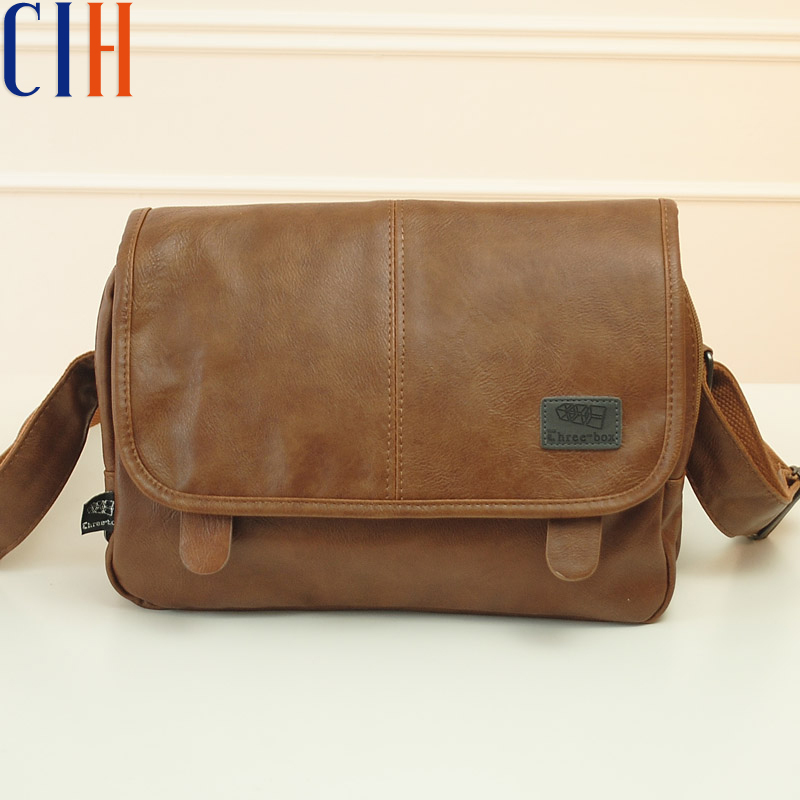Charm in hands! 2015 new arrive men messenger bag briefcase pu leather men's travel bag high quality luxury style men bag LM0011(China (Mainland))