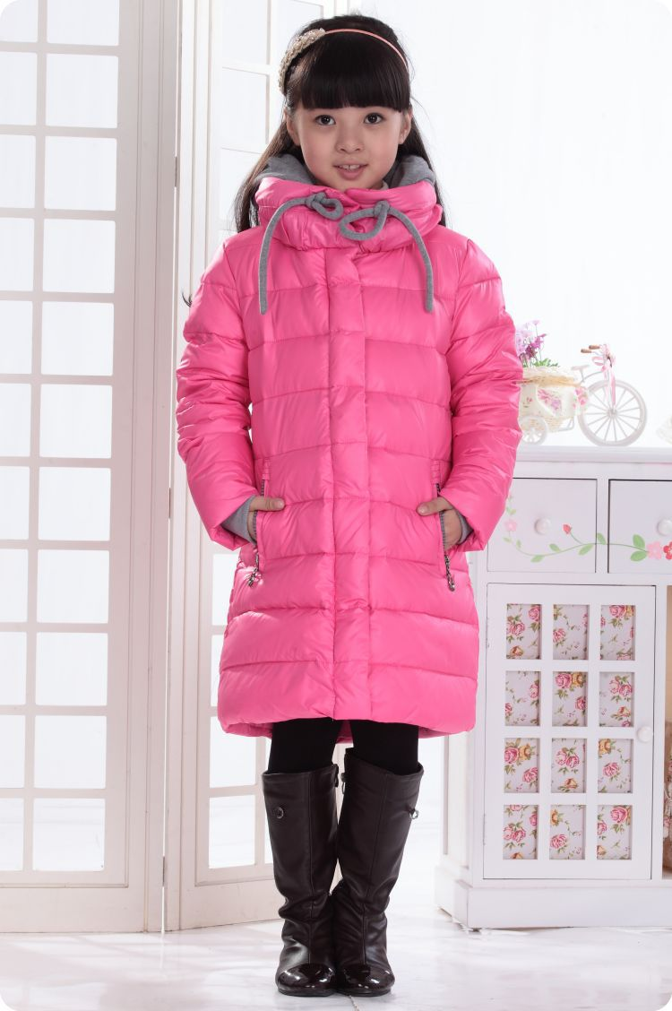 Girls Padded Winter Coat - Coat Nj