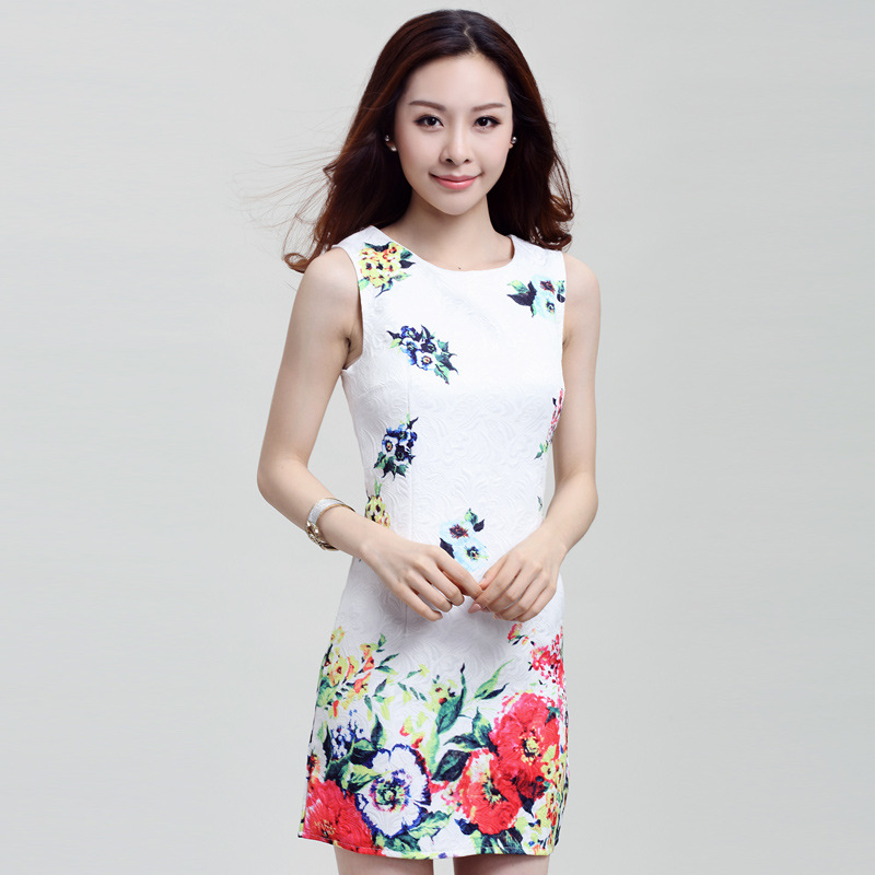 Buy Fake Designer Clothes Online buy flower dress fake designer