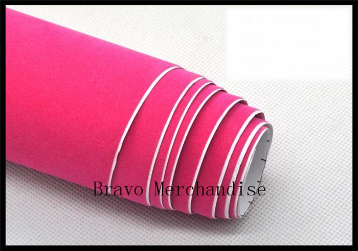 50x135cm lot automobile motorcycle car protect pvc velvet change color film stickers wine red