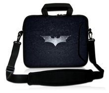 "15"" Batman Laptop Shoulder Sleeve Bag Case+Handle,Pocket For 15.6"" Dell HP ASUS/15.5"" Sony Vaio E Series(China (Mainland))"