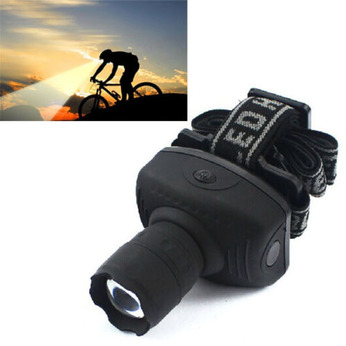 Super Bright Mini LED Headlamp Flashlight Frontal Lantern Durable Zoomable Head Torch Light Bike Riding Lamp For Camping Hunting(China (Mainland))