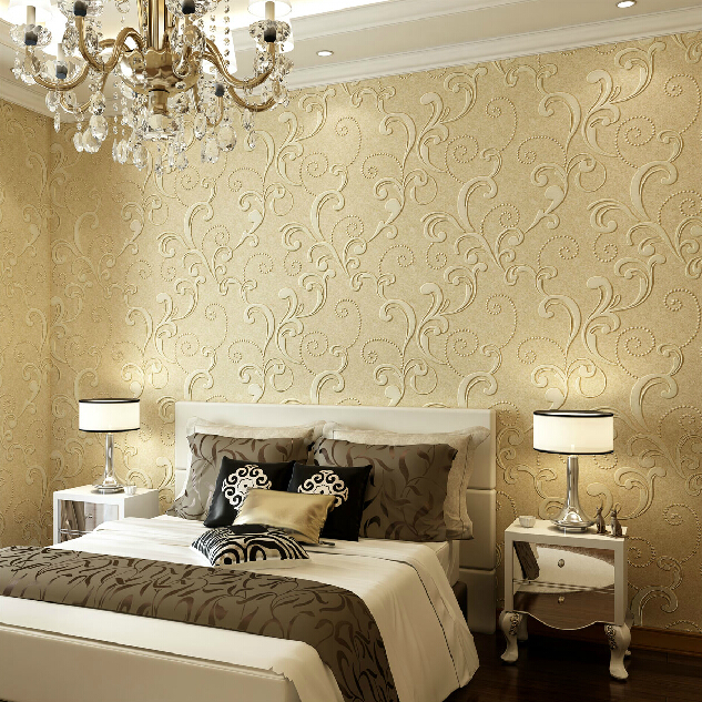 Livingroom wallpaper for walls 3d wall paper for bedroom 4 for Wallpaper colors for bedroom