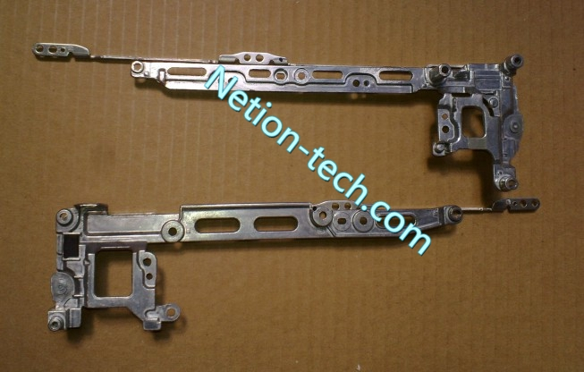 Original laptop LCD/LED display screen Left&Right hinges for Toshiba A50 A55 series notebook(China (Mainland))