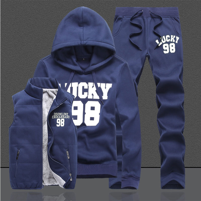 2016 new Fashional hoodies sports suit font b men b font women hoodies sweatershirt 3 pieces