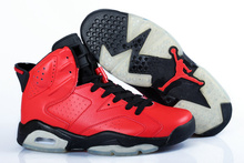 free shipping new 2016 women air jordan 6 v retro mid infrared black white with original box for sale woman size US5.5 to 8.5(China (Mainland))