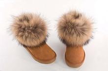 Classic Mini Fox Ful 5854 Sheepskin boots #2(China (Mainland))