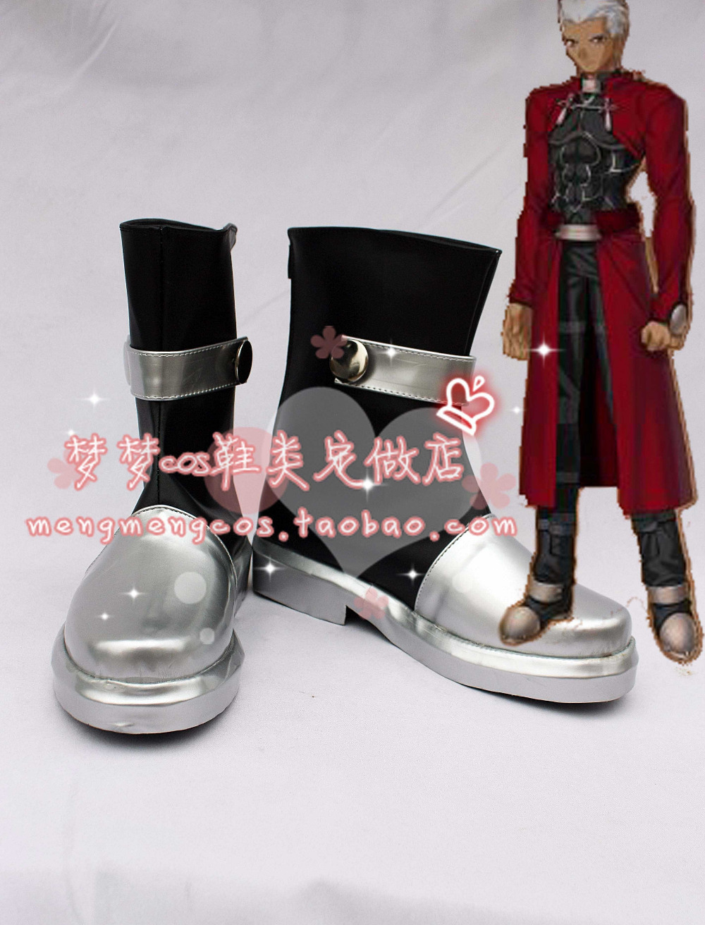 Anime Shoes fate stay night Archer Cosplay Boots<br>