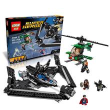 Buy 555pcs NEW LEPIN new Super Hero Batmobile Kryptonite interception Batman Luthor Model Building Blocks Kit Toy 07019 for $24.99 in AliExpress store