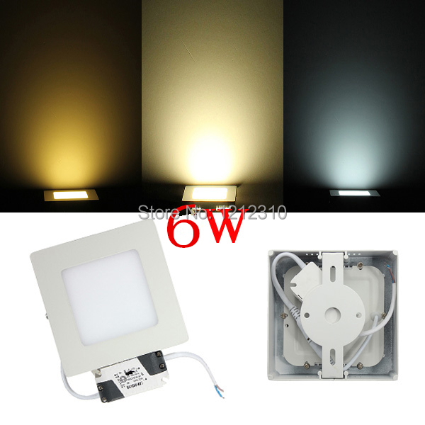 Free shipping 6W LED surface mounted wall light ceiling down light simple square modern design light brick <br><br>Aliexpress
