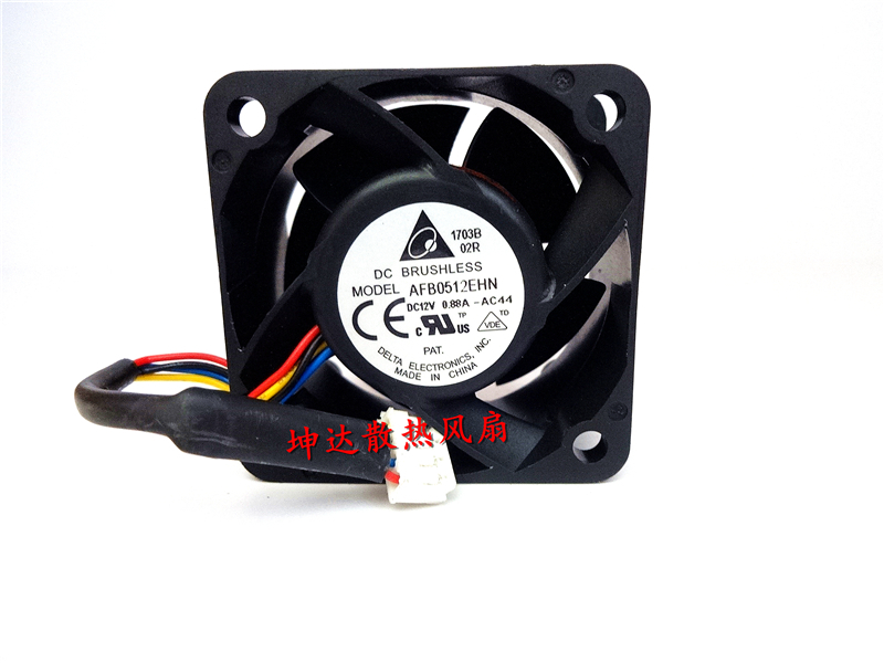 Free Shipping For DELTA AFB0512EHN -9A08 DC 12V 0.88A, 4-wier 50mm 50x50x28mm Server Square fan <br><br>Aliexpress