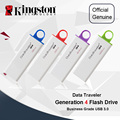 Kingston USB Flash Drives 32GB USB 3.0 8GB 16GB PenDrives 64GB 128GB DataTraveler G4 Plastic Pratical Cap Pen Drives Memory Disk