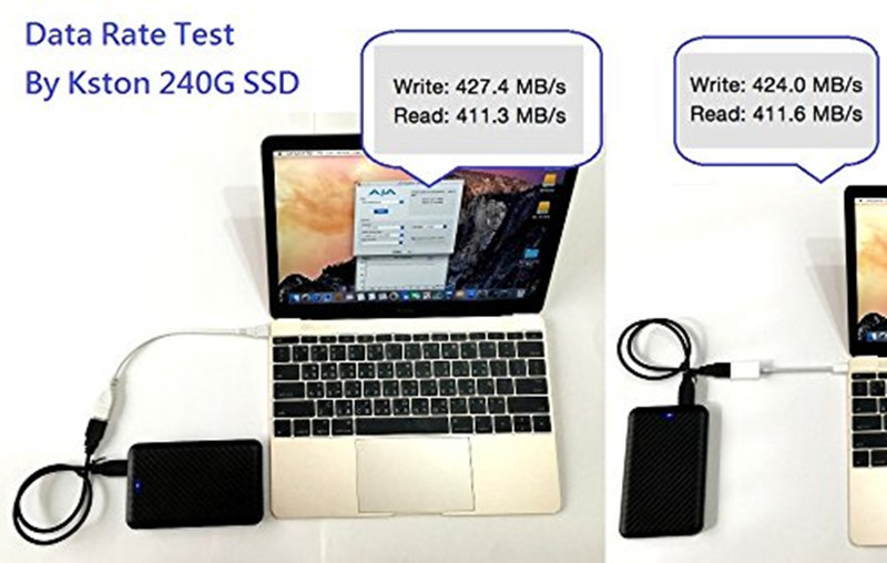 USB3.1 to USB3.0 Adapter OTG Connector Sync Cable Hub for Apple New 12 inch MacBook Chromebook Pixel and Other Type-C Devices