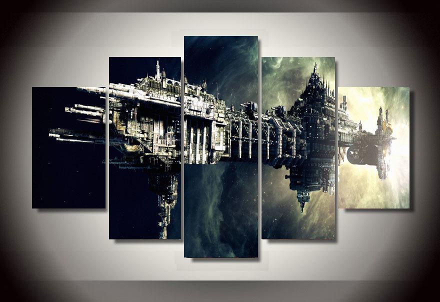 Commentaires affiche vaisseau spatial faire des achats for Image encadree decoration