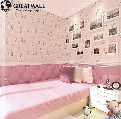 Great wall kinder tapeten mädchen und jungen schlafzimmer tapeten ...