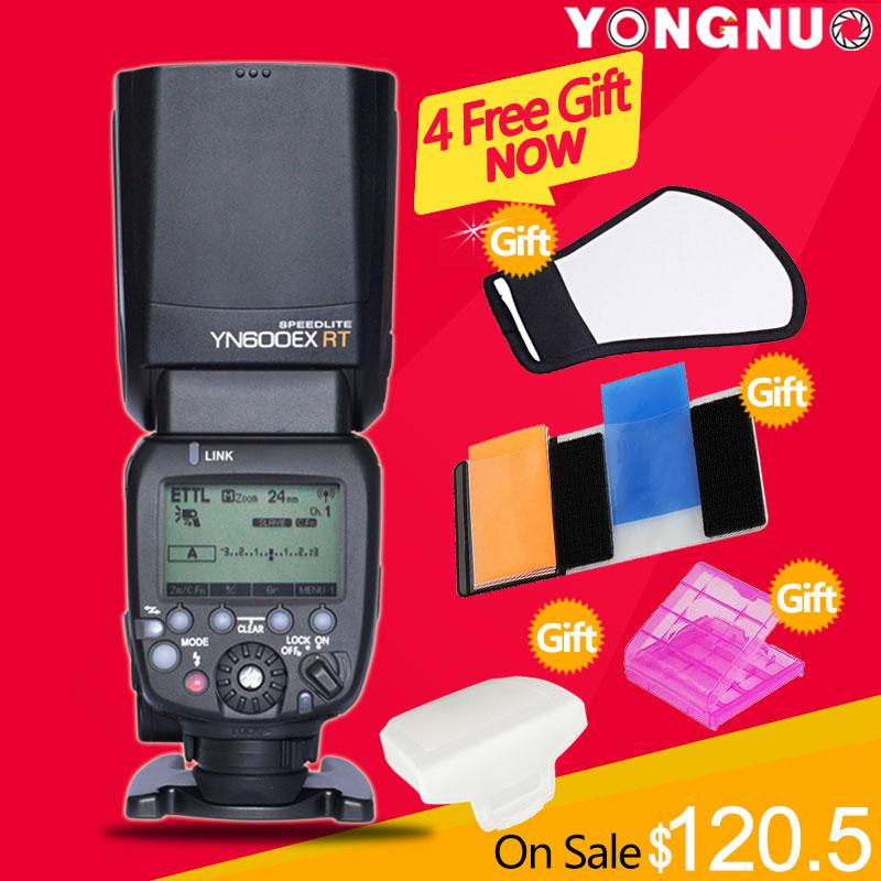 YONGNUO YN600EX-RT 2.4G Wireless HSS 1/8000s Master Flash Speedlite for Canon Camera as 600EX-RT YN600EX RT(China (Mainland))