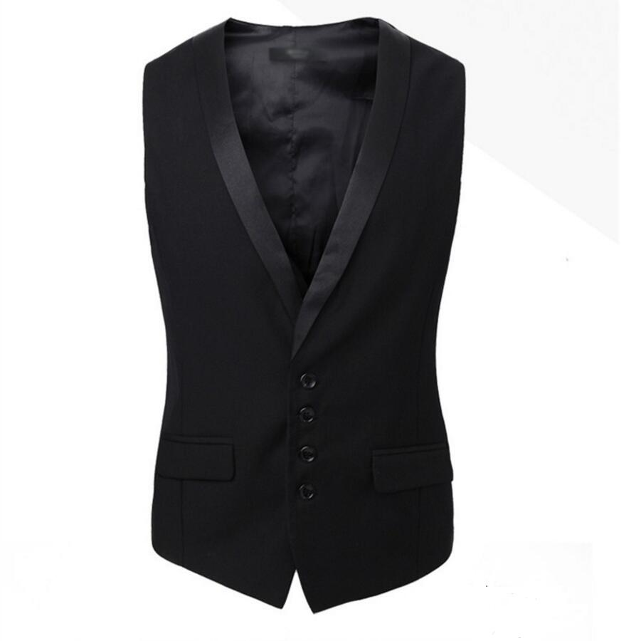 1.1 Vest Dress Men Formal Business Party Mens Dress Vest Suit Male custom Gilet Homme Vest Dress Men high quality
