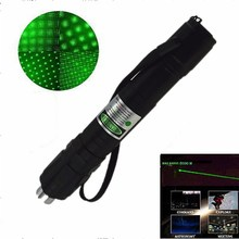 Laser 305 Burn Match Professional Powerful 10000MW Focusable Burning Green Laser Pointer Pen Lazer Pointer 10000m(China (Mainland))