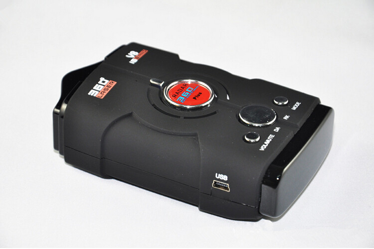 Fashionable Black V8 12V Car Radar Detectors Anti Police
