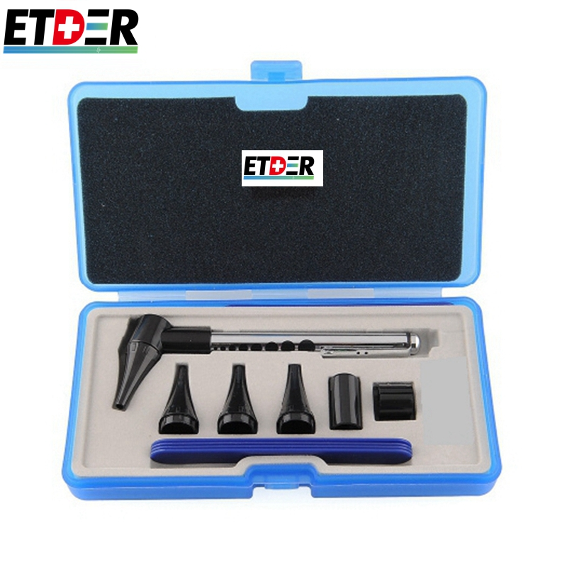 Otoscope Ophthalmoscope medical ear cleaner care amplifier Stomatoscop otoscopio Diagnostic hearing device formedical equipment(China (Mainland))