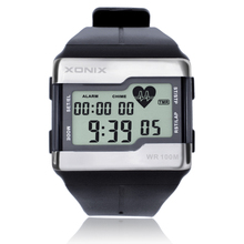 Hot!!!Fashion Heart Rate Monitor Men Sports Watches Waterproof 100 Meters Digital Watch Swimming Diving Wristwatch Montre Homme