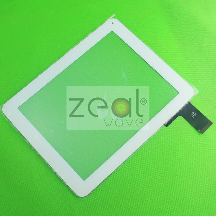 5pcs/lot 9.7 Touch Replacement Tablet Panel Touch Screen Digitizer Glass QSD E-C97011-04  Digma IDS D10 3G White Color<br><br>Aliexpress
