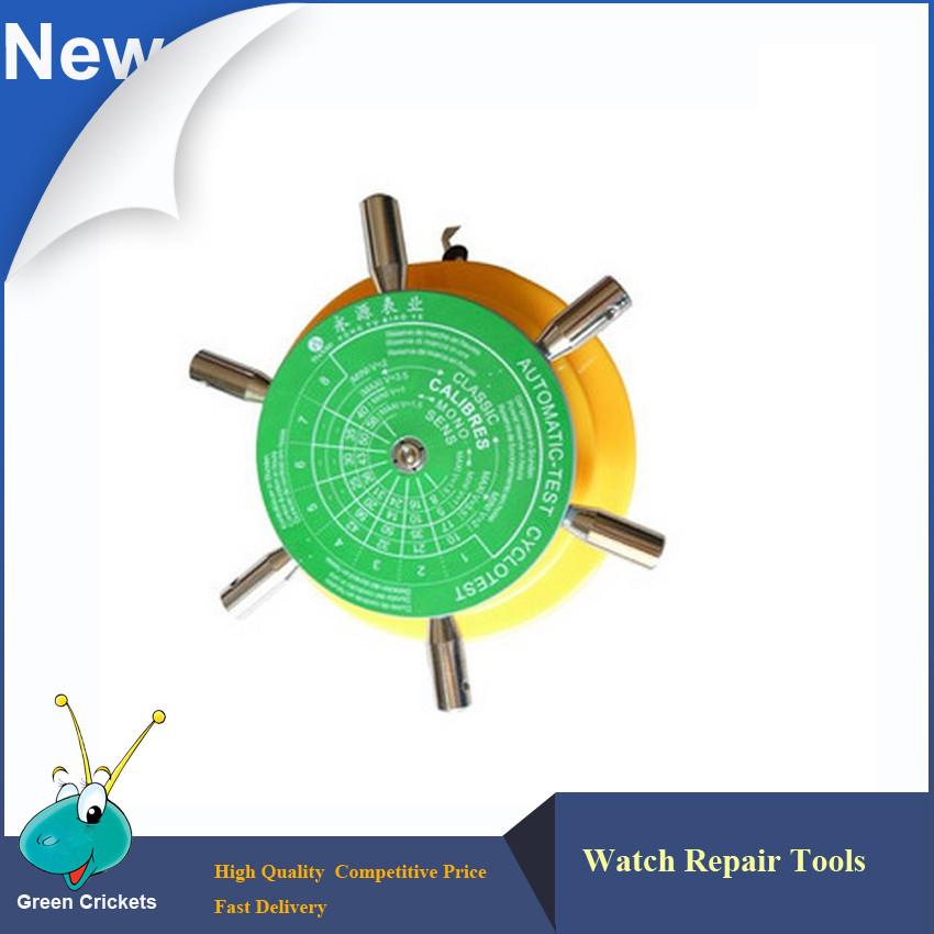 Высокое Качество Смотреть Winder 6 arm держатель для Механические Часы Тестер, Cyclotest Автоматический Тест смотреть winder Тестовой Машине