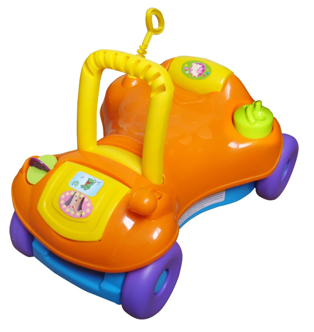 Toys That Start With B : Baby walker ride on car in step start