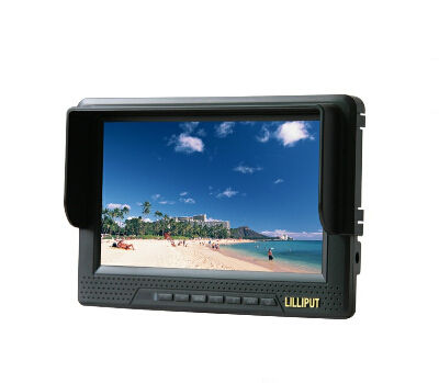 Lilliput 668GL Field Monitor for DSLR HD Video Camera,1080P,Internal Battery (HDMI, Component, Composite Input)(China (Mainland))