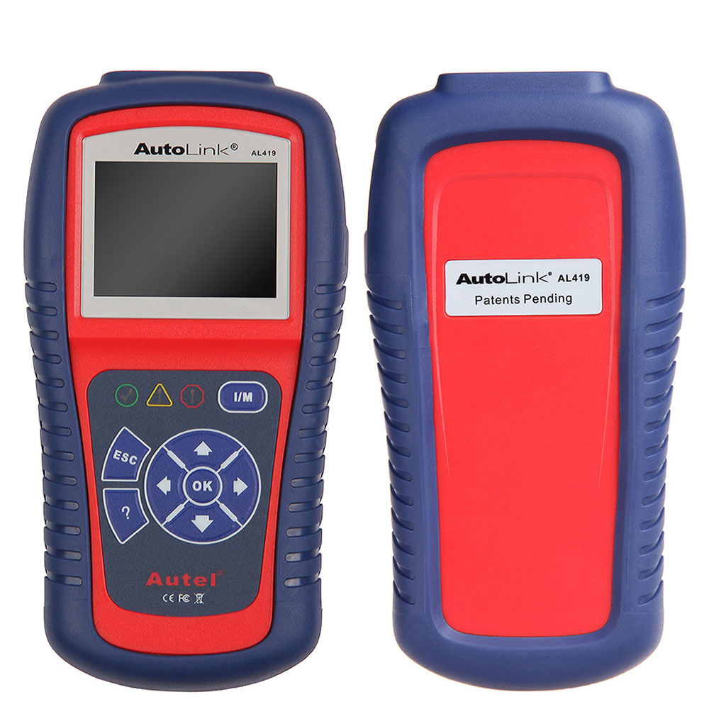 Autel AL419 Color Screen OBDII/CAN Scan Tools Car Diagnostic Tool Code Scanner Readers with Code Tips for Cars(China (Mainland))