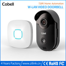 Buy Cobell HD 720P Video Door Phone Intercom Wifi Doorbell Home Security Night Vision Wireless Doorbell Doorphone for $91.66 in AliExpress store